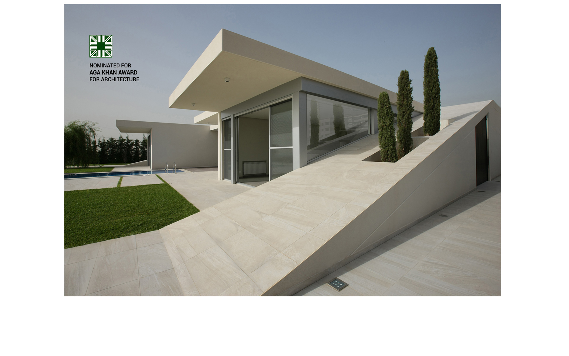 Accent dg specialized architecture lebanon the for Modern house lebanon