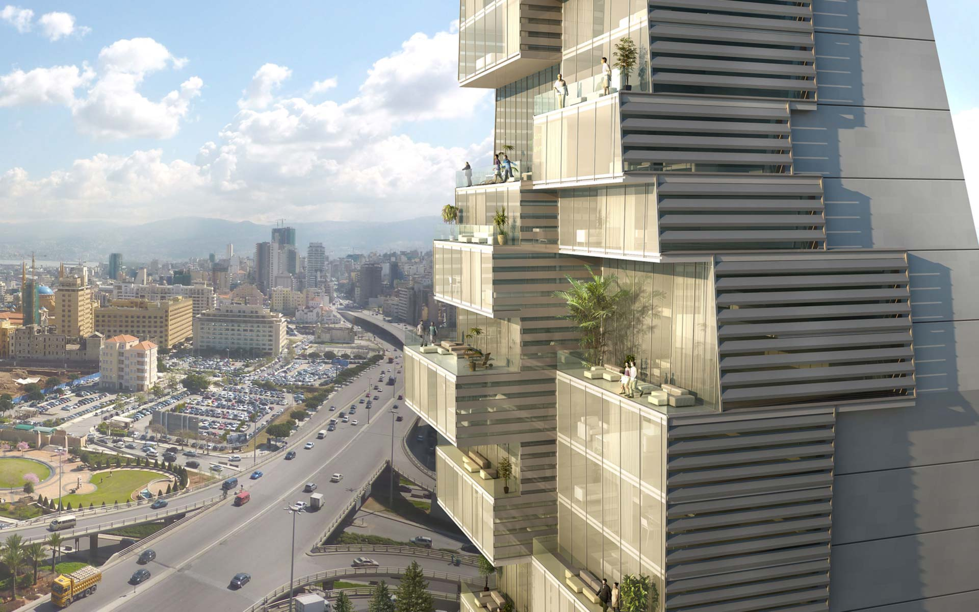 Accent dg specialized architecture lebanon the for Residential building designer