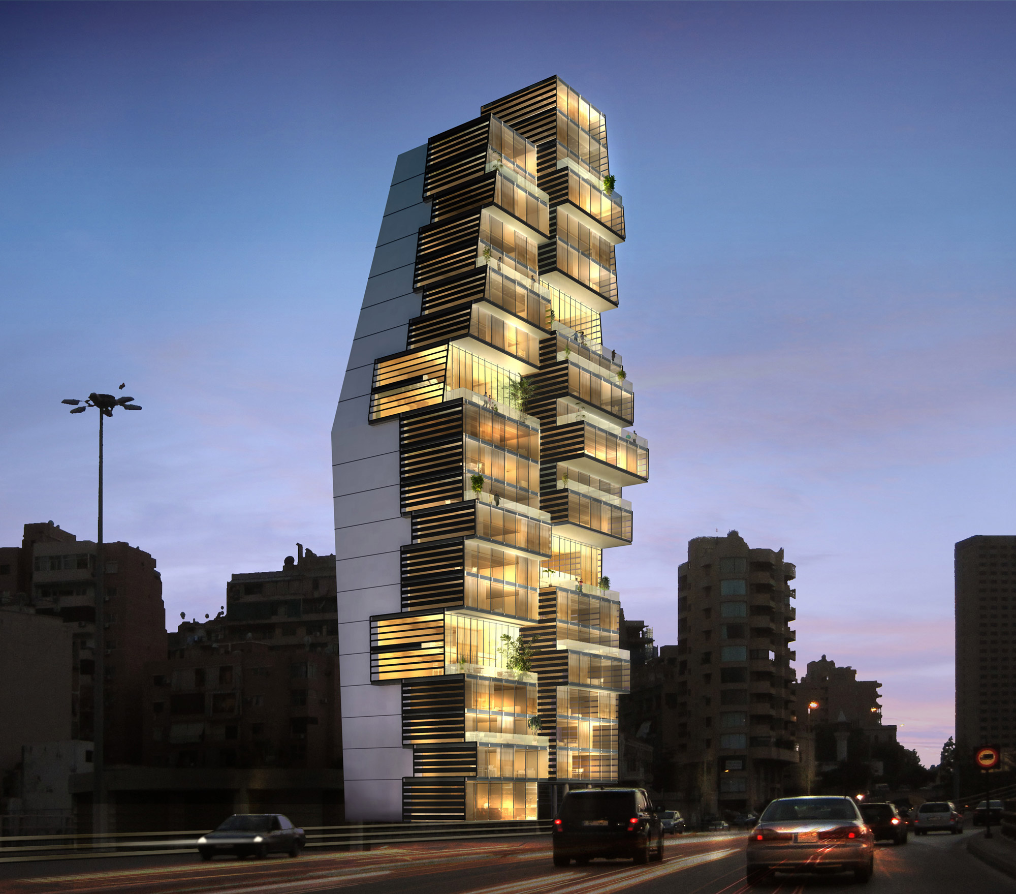 Beirut observatory by accent dg for Residential pictures