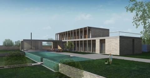Adloun Villa - view 1