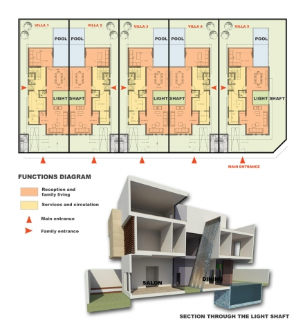 Al Nakheel Villas by Accent DG - plans and section
