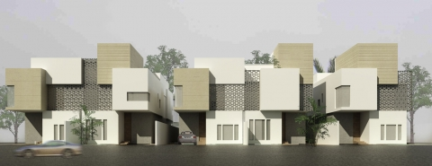Al Nakheel Villas by Accent DG - perspective