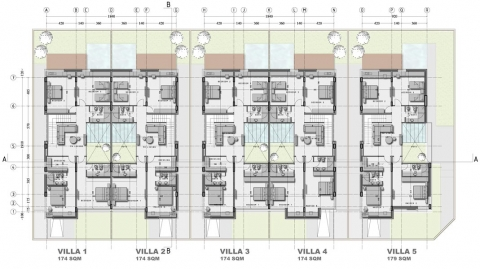 Al Nakheel Villas by Accent DG - first floor plan