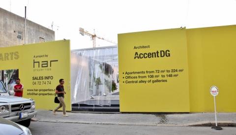 Allée Des Arts, Pop up gallery by Accent DG