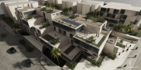 Aqaba Hotel by Accent DG - perspective by Accent DG