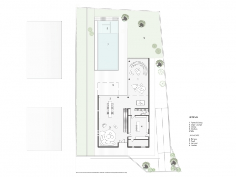 Bsalim Residence by AccentDG- plan