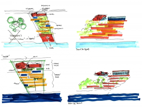 Dead Sea Hotel & Resort by Accent DG - diagram