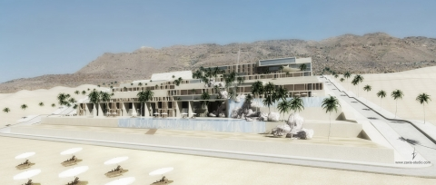Dead Sea Hotel & Resort by Accent DG - overview from Dead Sea