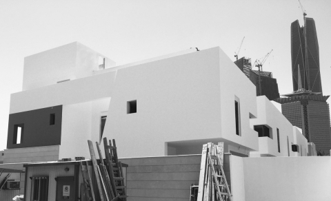 Al Nakheel Villas by Accent DG - Site progress (July 2015)