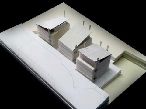Podium - model