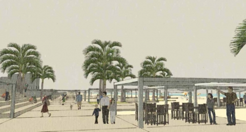 Ramlet El Baida Waterfront
