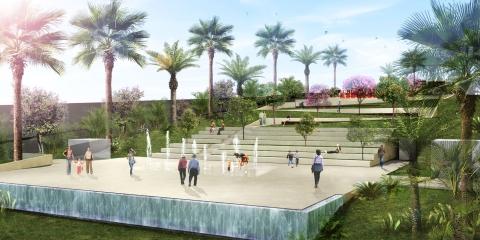 Ramlet El Baida Garden by AccentDG