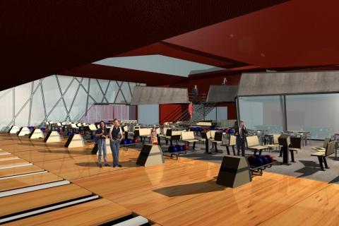 Riyadh International Bowling Center - interior