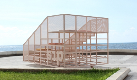 Sip café by AccentDG- outdoor mobile amphitheater