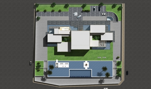 Villa RB - top view