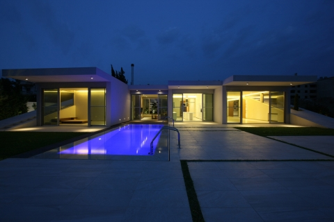 Jiyeh Villa by Accent DG - night view